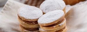 Alfajores are a popular sweet in Argentina and Latin America