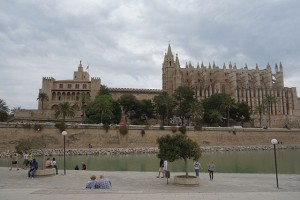 Palma Cathedral in Mallorca SPain