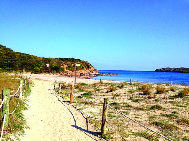 Menorca walk Spain
