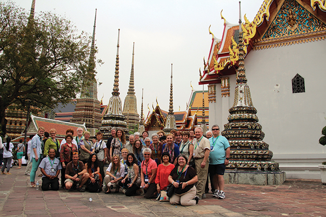 Go Ahead Group Coordinators on a Convention Tour in Thailand