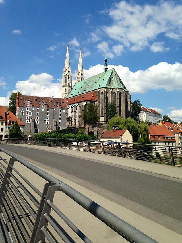 Footbridge of Gorlitz, Germany