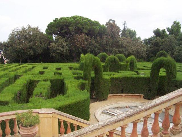 Barcelona labyrinth