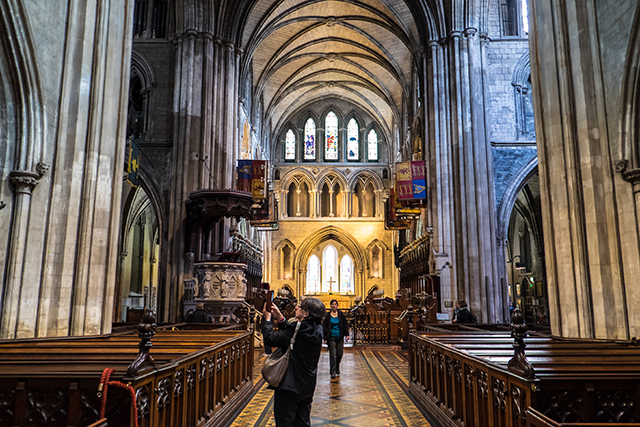 St. Patrick's Cathedral in Ireland
