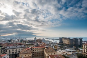Old meets new in the Naples skyline
