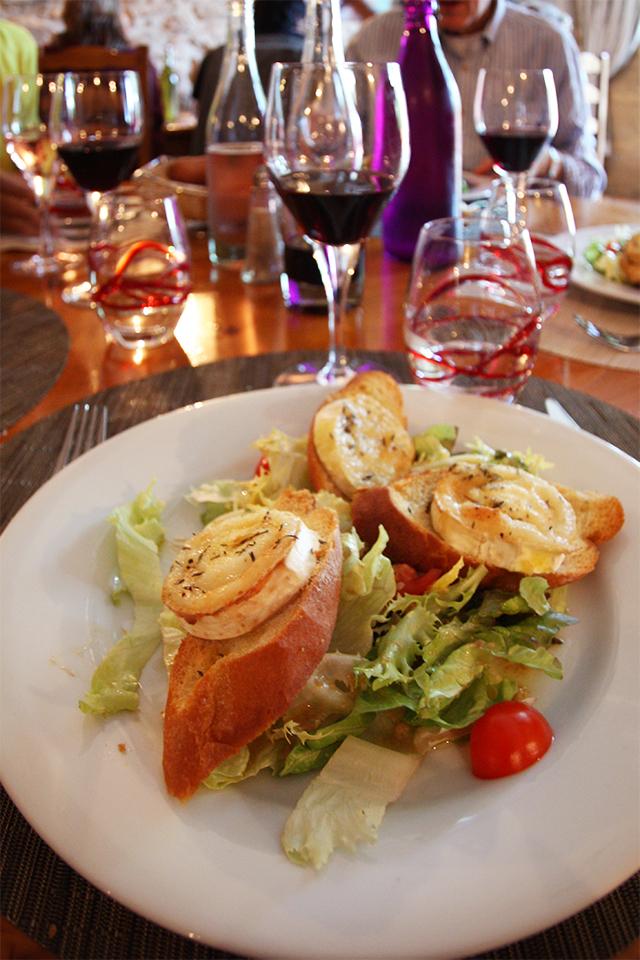 Dinner in Provence, France