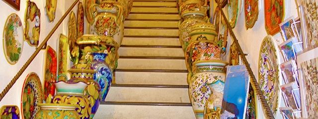 Amalfi Coast Ceramic feature