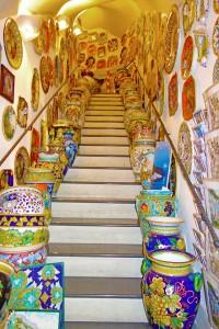 Amalfi Coast ceramics