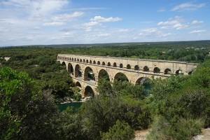 The Pont du Garde in France