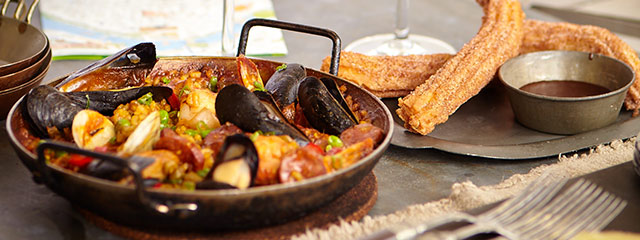 Spain dinner