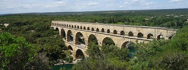 Pont du Garde aqueduct in France