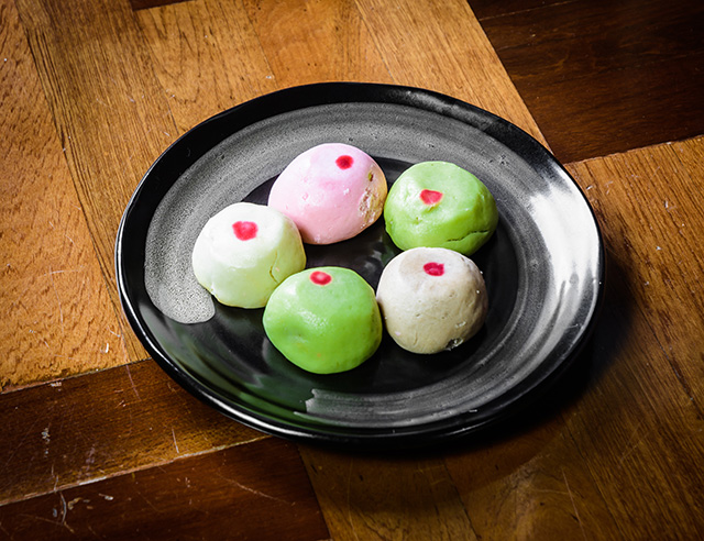 Mochi is Japanese ice cream