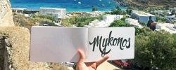 Follow Jessie & Jenna on Tour: Day 9 – Arrival in Mykonos