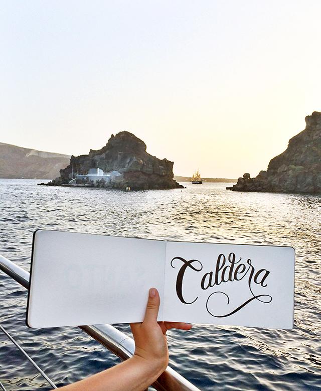 Caldera sketch