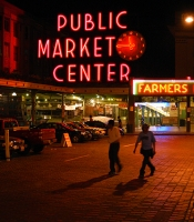 Pikes Place in Seattle, WA