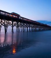 Folly Beach Pier in Charleston, SC