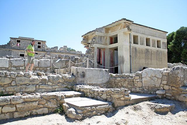 Knossos Ruins, Crete, Greece