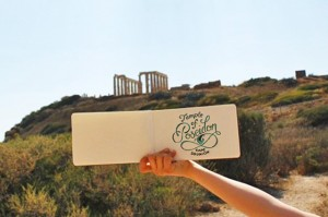 Temple of Poseidon Sketch