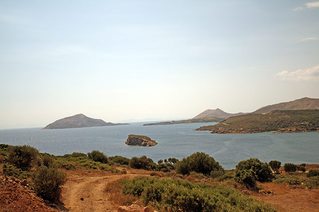 View from Cape Sounion