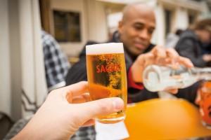 Portugal's popular Sagres beer