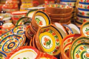 Handmade ceramics, signature Portuguese souvenirs