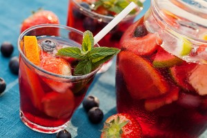 Spanish sangria is great for summer