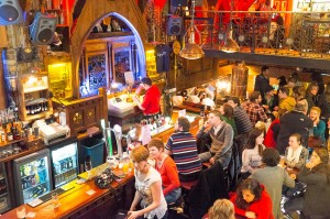 A Galway pub packed with locals