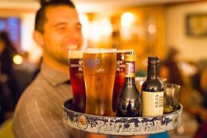 A friendly Irish bartender