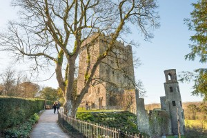 Heading over to the iconic Blarney Castle