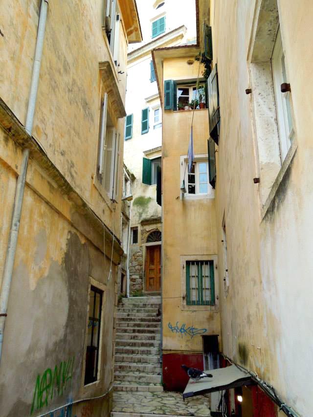 corfu alley