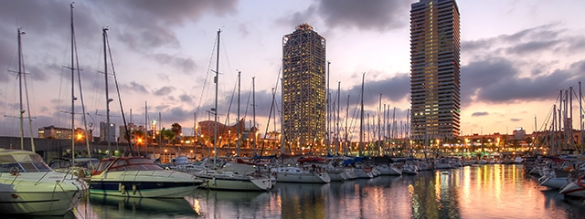 Port Olimpic, Barcelona, Spain