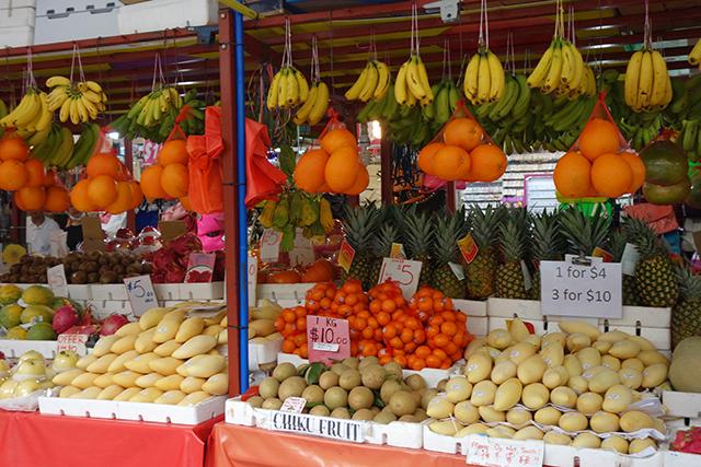 Street Market in Singapore