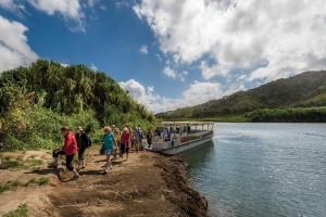 Walking the lush landscapes surrounding Lake Arenal