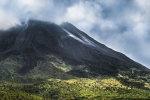 The majestic Arenal Volcano