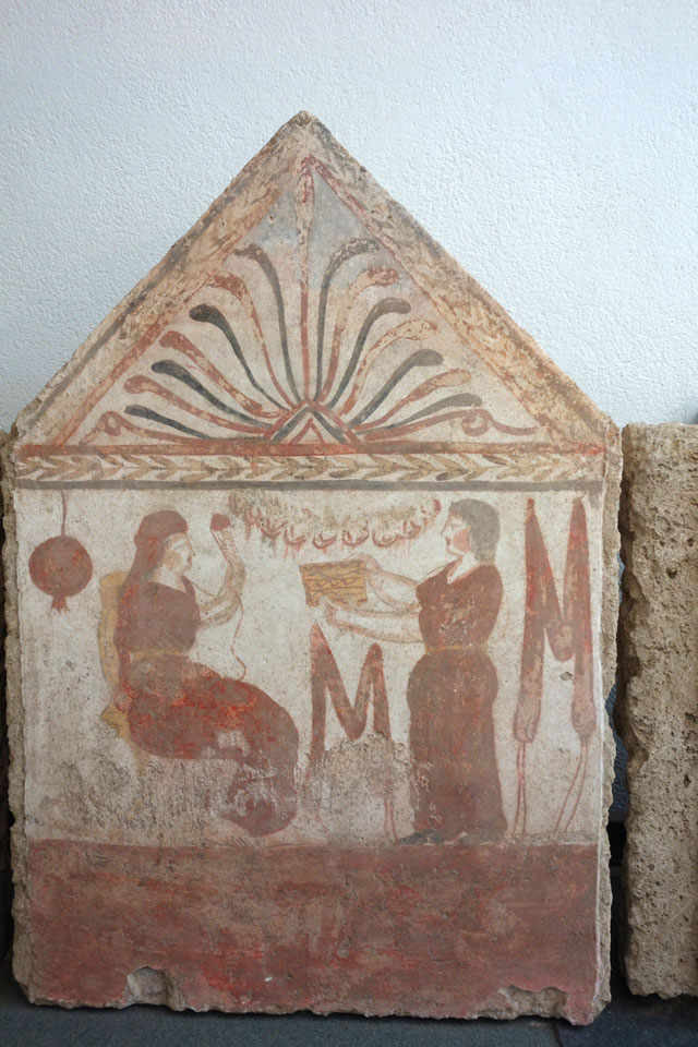 paestum fresco
