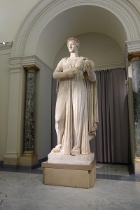 Statue in the Naples National Archaeological Museum