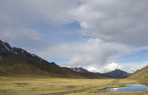 Andes Mountain pass