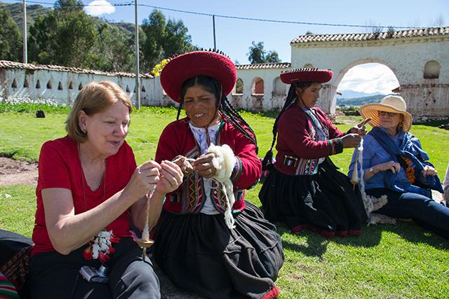 Mamitas in Umasbamba Peru