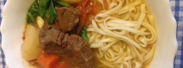 Taiwanese beef stew