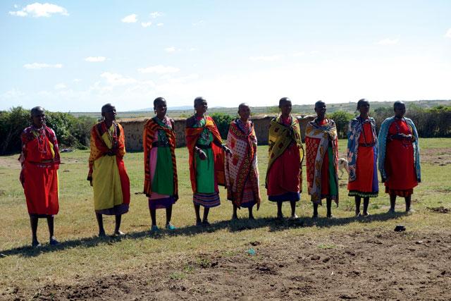 masai mara women