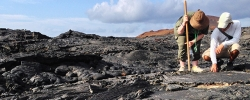 Snapshot: The volcanic ground of James Island