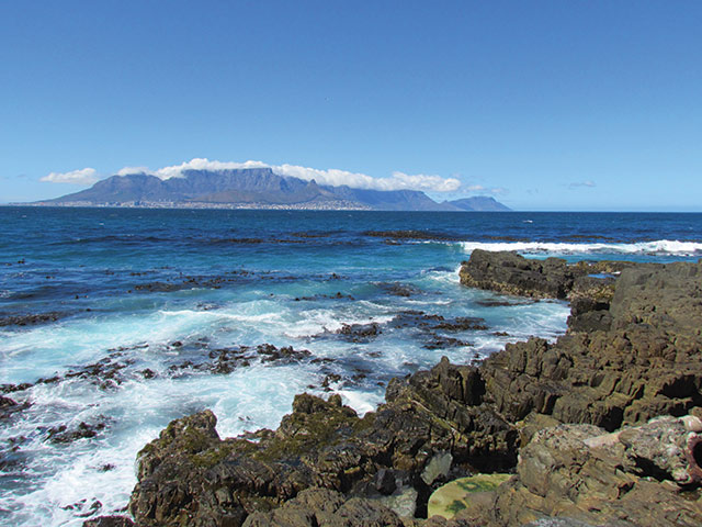 Coast view in Cape Town, South Africa