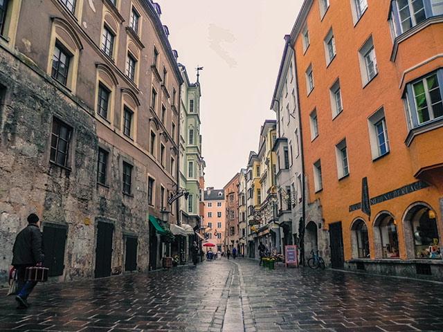 city of Innsbruck, Austria.