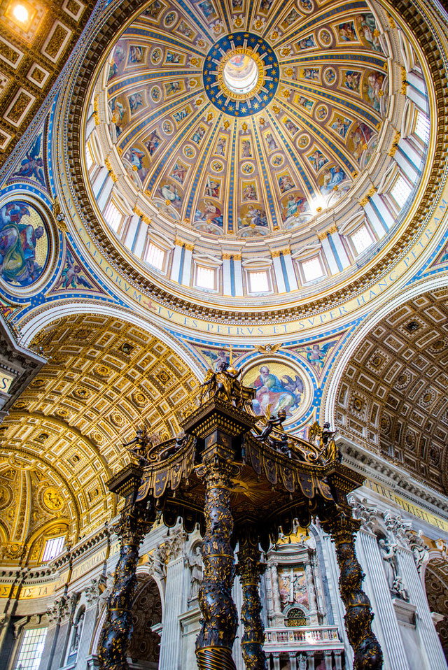 Altar St Peters Basilica