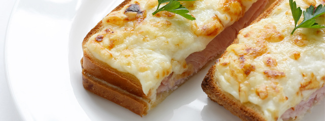 French fast food: Croque-Monsieur