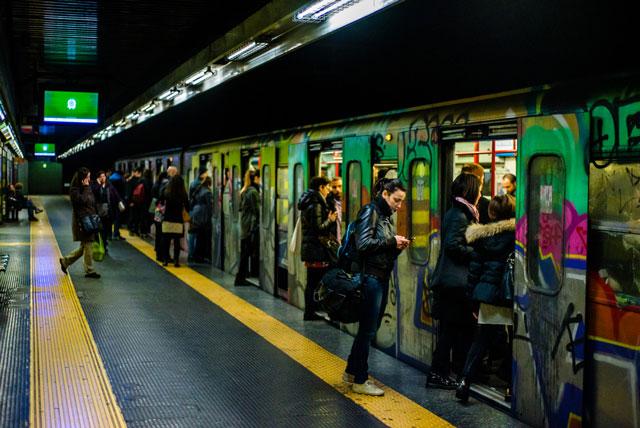 Rome metro