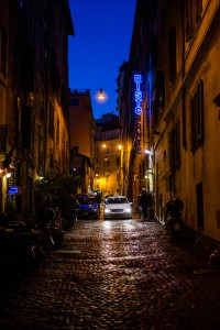 rome side street