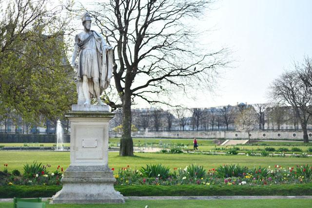 Tuileries Garden view