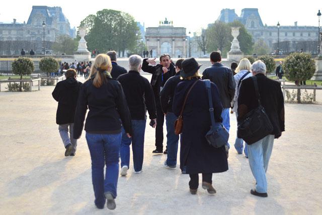 Tuileries Garden tour