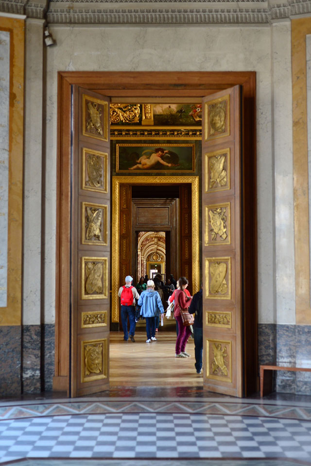 Doors at the Louvre