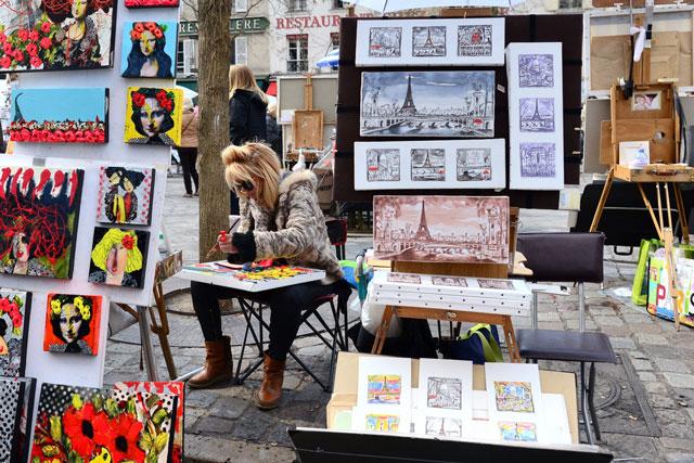 Artist in Montmartre